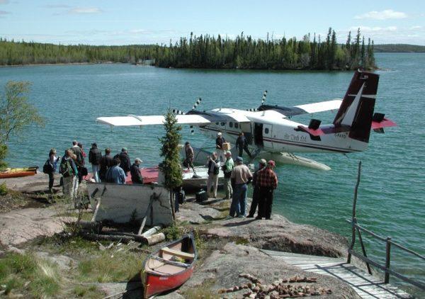 Twin Otter Air Tindi Blachford Lake