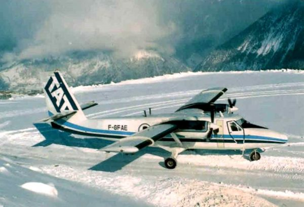 Twin Otter TAT Courchevel