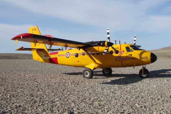 Twin otter galets