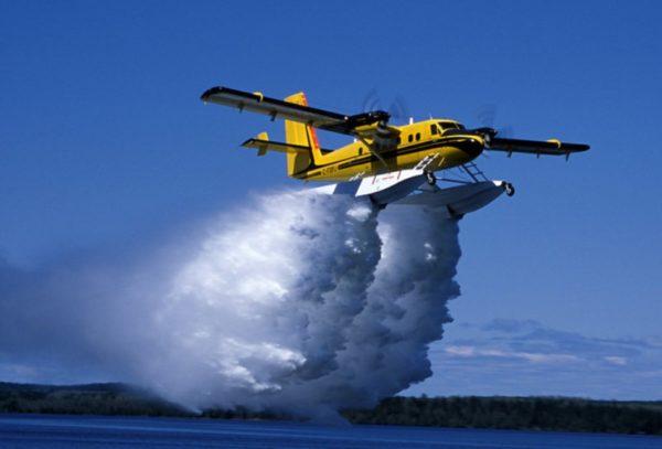 Twin otter pompier 1