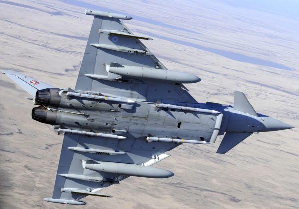 Les Typhoon basés aux Malouines, comme cet avion, représentent une menace crédible pour les futurs Fencer argentins.