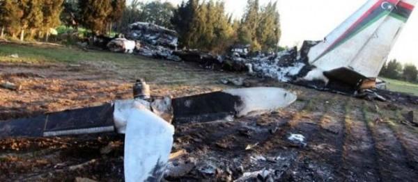 L'image du site du crash témoigne de la violence de l'accident.