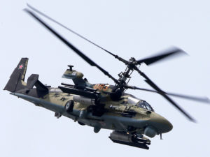 Le Kamov Ka-52 lourdement armé
