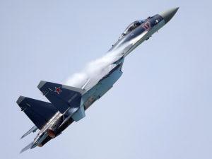 Le Su-35 russe au Bourget 2013