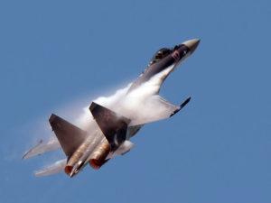 Le Su-35 a fait le show