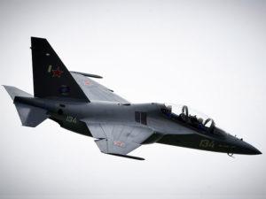 Le Yak-130 en évolution au Bourget
