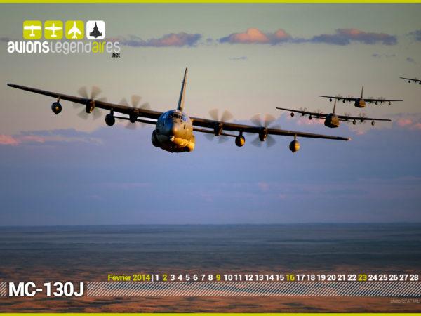 MC-130J en formation