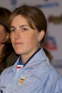 Viginie Guyot, ex-patronne de la Patrouille de France.