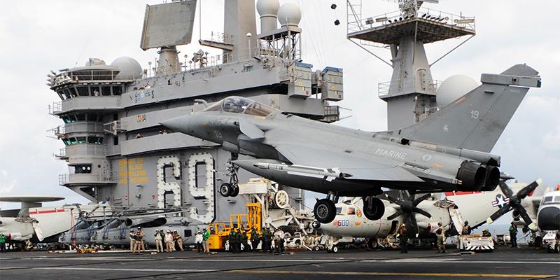 Des rafales pour les futurs porte avions am ricains - Liste des porte avions americains ...