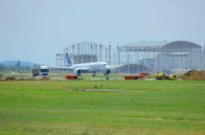 retour de l'A350