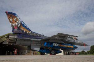 les F-16 turcs aussi sont de la fête