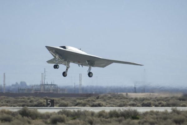 Le X-47b est un des concurrents du concours UCLASS les plus avancé.