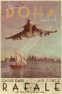 poster-rafale-qatar-emiri-air-force-gaetan-pichon