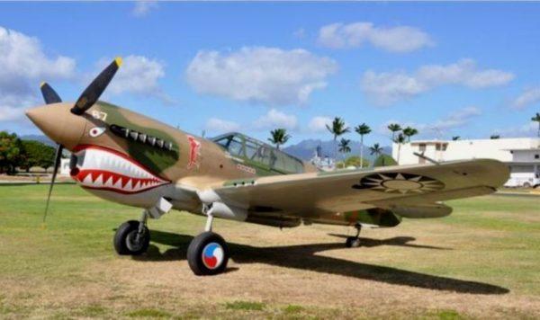 PAM Curtiss P-40E Warhawk Chine2