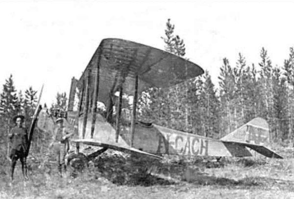 Skagway Prest Biplane