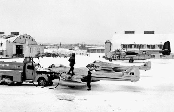 Whitehorse Airport 1950