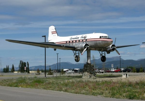 Whitehorse Airport DC3