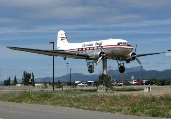 Whitehorse Airport DC3