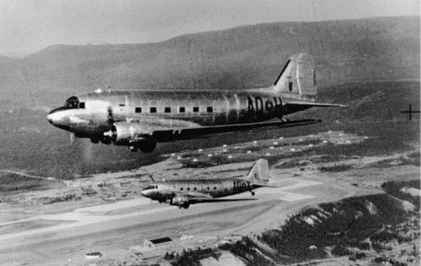 Whitehorse RCAF Dakota