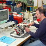 Ateliers de réparations des pièces d'avions militaires