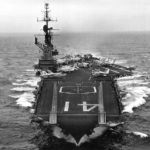 le porte-avions USS Midway en 1963