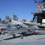 F-8 Crusader - USS Midway Museum