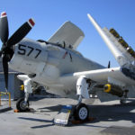 A-1 Skyraider - USS Midway Museum