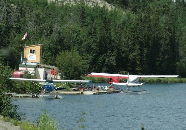 whitehorse Floatplane base Schwatka Lake2